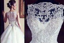 Wedding dresses / wedding dresses / by Tuddenham Mill