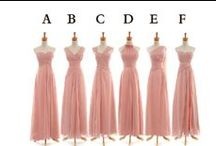 Bridesmaid dresses / ideas for bridesmaid dresses / by Tuddenham Mill