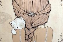 illustrations / by Gisele Miyagushico