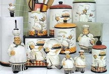 ♥ My Kitchen Ideas ♥ / Decorating my kitchen in Fat Chef - LOVE this little guy!!! / by Misty Woodell