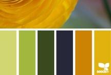 Paletas de colores / by El rincón de mi abuela Anita