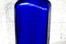 Cobalt Blue Bottles / by Belinda Carpenter Abbott