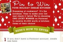 """""""My Holiday Dream Kitchen"""" / by Laurel Desaulniers"""