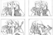 Fandom - Fullmetal Alchemist / Japanese Manga/Anime (both series & movies) / by Elizabeth Crowe