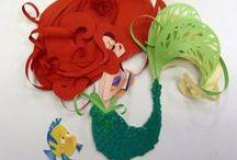 Fandom - Disney (Little Mermaid) / by Elizabeth Crowe