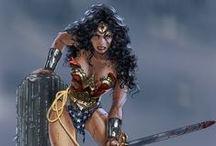 Fandom - DC (Wonder Woman) / by Elizabeth Crowe