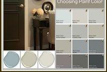 Paint Colors, Schemes, & Stencils / by Melissa G