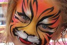 Face Painting / Inspiration for the school fair / by Kath Bee