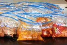 Freezer Meals / Make ahead recipes for the freezer / by Melissa G
