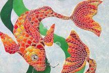 MOSAICO / Imagens e ideias de arte em mosaico nas suas mais variadas expresões e suportes. / by Rosimeire Andrade Severo