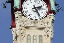 relojes publicos / by Irene Garaventa