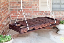 Wood Pallets / Inside my mind and what I wish I could do with wood pallets! / by Homeschool Parent Information Network