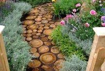 In the garden / by tressan