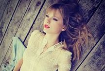 Taylor Swift  ♡ / What can I? I'm a Swiftie! Since late 2006 early 2007. / by Amelia Hunter
