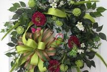 Wreaths / I'm always looking for a new wreath for my door! / by Norma Rankin