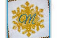Winter Designs / Winter themed embroidery designs on sale at Embroitique.com / by Embroitique