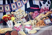 Farm Parties / How to make your farm-themed party a barnyard blast! / by Miss Jamie