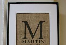 "Mr. & Mrs. Martin  ""M"" / by Linda Martin"