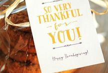Thanksgiving blessings / by Linda Martin