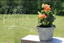 DIY Garden & Outdoor / Things to make and to do for your garden  / by Kyra Pinky