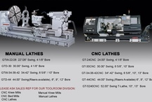 "Manual and CNC Big Bore Oil Country Lathes - Ganesh Machinery / 22"" - 60"" Swing Manual Big Bore Lathes, spindle bores 4 to 12"". 24"" - 60"" swing CNC Big Bore lathes, spindle bores 4 to 14"", Heavy Duty with rugged hardened and ground ways, Ganesh Machinery 1-888-542-6374. www.ganeshmachinery.com / by Ganesh Machinery"