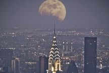 Caught Between the Moon and New York City / by Pam Bach