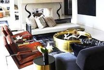 Handsome Sexy Man Rooms / masculine sensibility for the rooms men live in : bed.bath.work.lounge.kitchen / by Cityhaüs Design Consultants