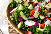 Salads / by Meliesha Duodu