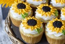 Cake - cupcakes - icing / by Tina McCorkle  Williamson