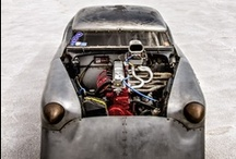 Four wheeled beasts / by Return of the Cafe Racers