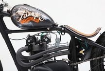 Bobbed & Chopped Triumphs / by Return of the Cafe Racers