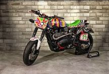Triumph custom motorcycles / by Return of the Cafe Racers