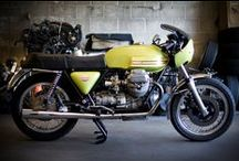 Moto Guzzi custom motorcycles / by Return of the Cafe Racers