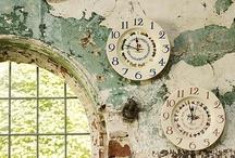 clocks / by Rita Edwards