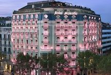 Majestic Hotel & Spa Barcelona / 5-star hotel located in the middle of Pasea de Gracia, heart of the city, close to exclusive shops and the famous Gaudi buildings.  Passeig de Gràcia 68, +34934922244 / by Hotel Denit Barcelona