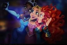 Disney Art n' Stuff / Just pretty Disney inspired illustrations and jokes etc. / by Meghan Cohoon