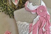 t-riffic t-shirt scarves (et.al.) / by Maureen White