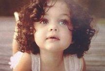 Adorable Lil' Faces / Kid  / by Mz. Kim Jones