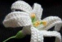 Crochet - Flowers and Other Motifs / by ~Cynosure~