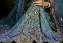 Pretty Indian Clothes / Pretty peacock inspired Indian clothing. / by Glenda Goodwhich