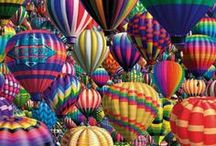 Hot Air Balloons / by Nancy Landfried