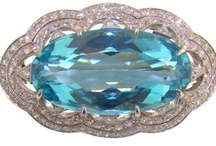 Jewelry - Aquamarine / My favorite gemstone of all time / by Mickie McCord