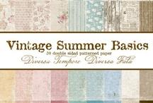 Vintage Summer Basics / by Maja Design