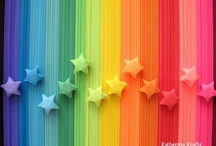 Rainbow Soirée.... / just things that make me happy when I look at them... / by Carrie Stedt