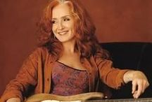 SHE'S GREAT BONNIE RAITT / Bonnie Lynn Raitt was born on November 8. 1949..She has been on the Cover of Rolling Stone more than once.She went to Radcliffe College.She has made 19 albums. and she has won 9 Grammies She is a a Blues singer, songwriter, and one of the greatest slide guitarist in the world...She is among Rolling stones 500 greatest singers. She is the Great and one and only and we are blessed to have her... .Bonnie Raitt...She is wonderful...ee... / by Eva Eutsler