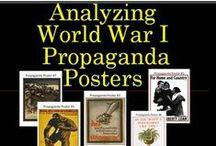Propaganda Posters / History Propaganda Posters / by Chalk Dust Diva