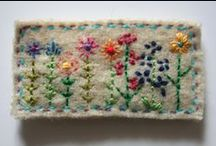 Stitchering, embroidery... // Costura, bordado... / by El Toque de Alala