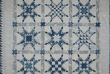 ~ Blue and White Quilts ~ / by Anne Barlow
