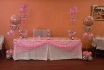 baby shower balloons decor / by rosielloons