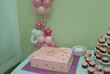 princess baby shower decor / by rosielloons